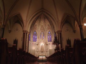 St Paul sanctuary